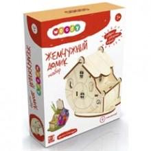 Конструктор деревянный Жемчужный домик