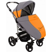 Прогулочная коляска Bebetto MАGELAN оранжевая