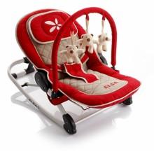 Детское кресло-качалка Baby Point Elsa красное