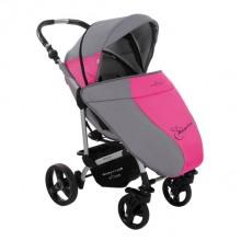 Прогулочная коляска Bebetto MАGELAN розовая