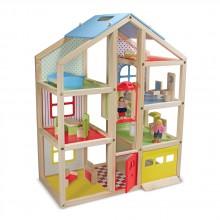 MD2462 Кукольный домик с подъемником и мебелью
