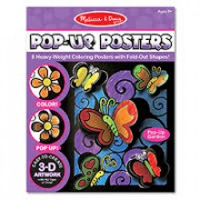 3-D раскраска Цветы и бабочки MD5282