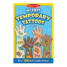 Временные татуировки, 100 шт., голубые MD2947