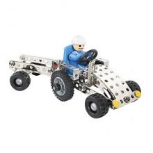 Конструктор EiTech Трактор с прицепом C81
