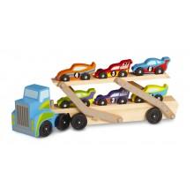Деревянный мегатягач автомобилей
