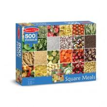 Правильное питание - напольный пазл, 500 эл.
