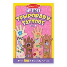 Мои первые временные татуировки, 100 шт., розовые MD2946