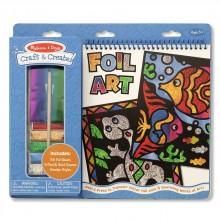 MD5061 Foil Art Набор для творчества Разноцветная гравюра