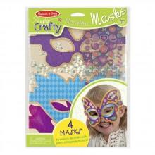 MD9481 Набор для творчества Гламурные маски