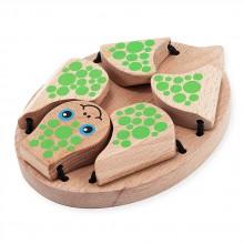 Деревянная игрушка Поиграй в прятки с черепашкой MD4029