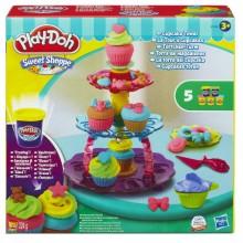 Плей До. Игровой набор Башня из кексов
