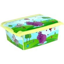 Ящик для игрушек Hippo , 10л 271378E