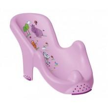 Анатомическая форма для ванны Hippo , лиловая 8619.509(KK)