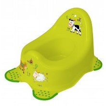 Детский горшок Funny Farm , зеленый 8722.274