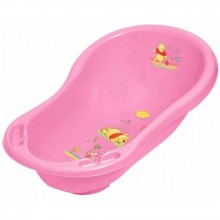 Детская ванна 84см со сливом - Дисней - розовая 816P