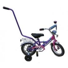 Велосипед Марс 12 ручка + эксцентрик роз/фиол