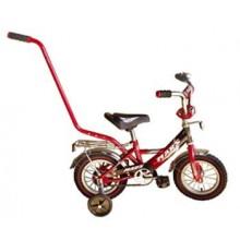 Велосипед Марс 12 ручка + эксцентрик (красный/чёрный)