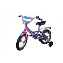 Велосипед Марс 14 (розовый/фиолетовый)