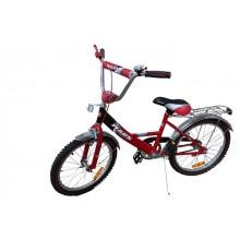 Велосипед Марс 16 ручной тормоз + эксцентрик (красный/чёрн