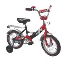 Велосипед Марс 14 ручной тормоз + эксцентрик крас/черн