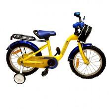 Велосипед Марс 16  желтый/синий