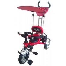 Велосипед 3-х колесный Mars Trike надувные колёса (красный