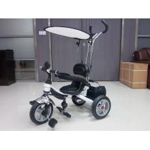 Велосипед 3-х колесный Mars Trike надувные колёса (белый)