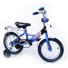 Велосипед Марс 14 ручной тормоз + эксцентрик син/черн
