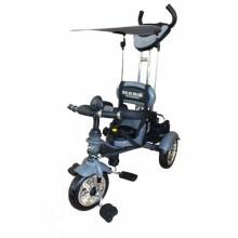 Велосипед 3-х колесный Mars Trike надувные колёса (графит)