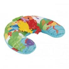 Музыкальная массажная подушка для игры на животике Тропиче