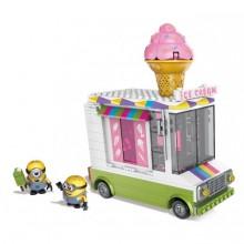 Конструктор Фургончик с мороженым серии Миньоны Mega Bloks