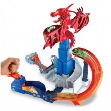 Игровой набор Атака дракона Hot Wheels
