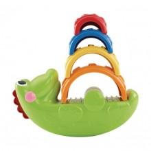 Веселый крокодил Складывай и качай Fisher-Price