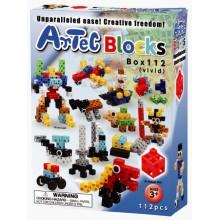 Конструктор Artec Blocks НАБОР 112 дет. в коробке (яркие ц