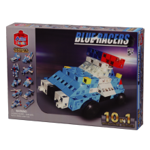 Конструктор Artec Blocks BLUE RACERS 10-в-1, 100 дет.