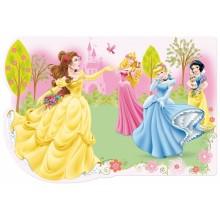 Коврик-подставка Принцессы Disney 10шт.