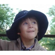 Вельветовая шляпа Kidz Banz (2-5 лет) синяя