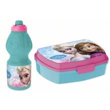 Набор ланч-бокс и спортивная бутылочка Frozen (Холодное Се