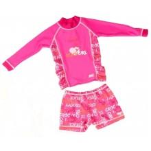 Комплект солнцезащитный для девочки Banz UPF50+