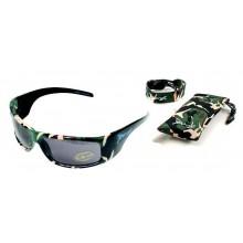 Очки JBanz - Зеленый камуфляж