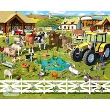 Детские фотообои Walltastic Веселая ферма
