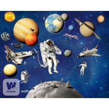 Детские фотообои Walltastic Космические приключения