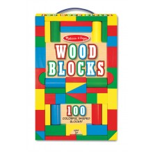 100 деревянных кубиков