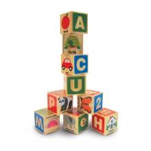 Деревянные блоки Цифры/Буквы