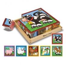 Кубики «Ферма» MD775