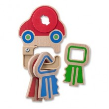 Деревянная игрушка Детские ключики MD4022