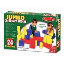 Большие картонные кубики (24 шт) MD2783