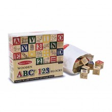 Кубики Английская азбука и цифры MD1900