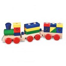 Поезд c кубиками MD572