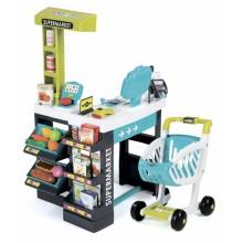 Інтерактивний супермаркет з візком, продуктами